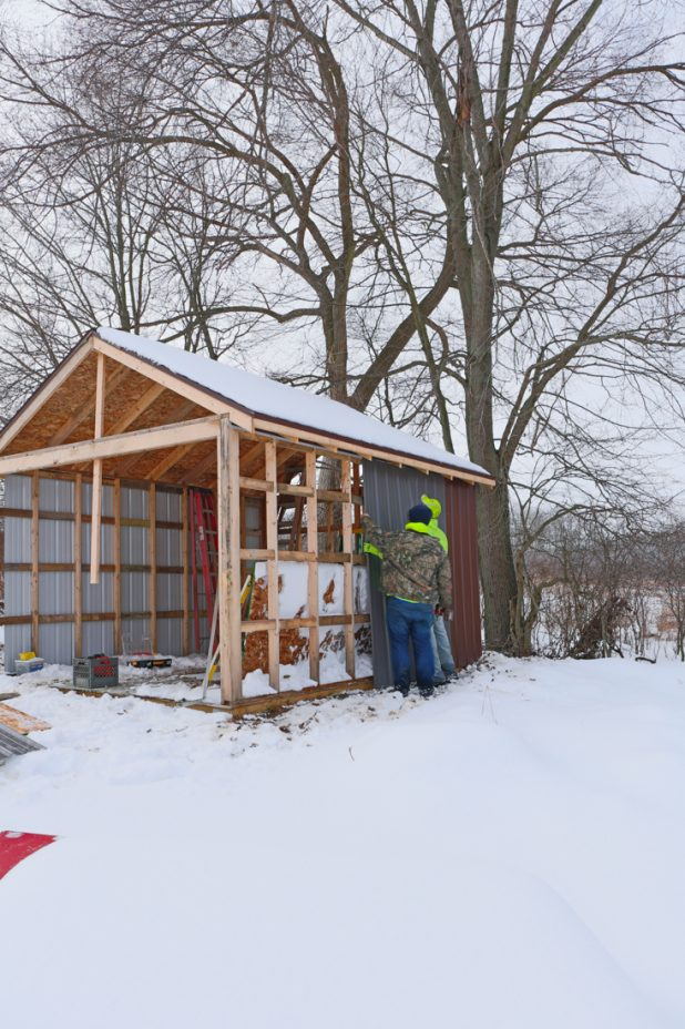 Toy Shed Build