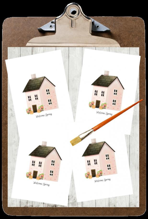 Free Downloadable and Printable Farmhouse Spring Printable