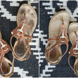 How To Clean The Footbed Of Suede Sandals