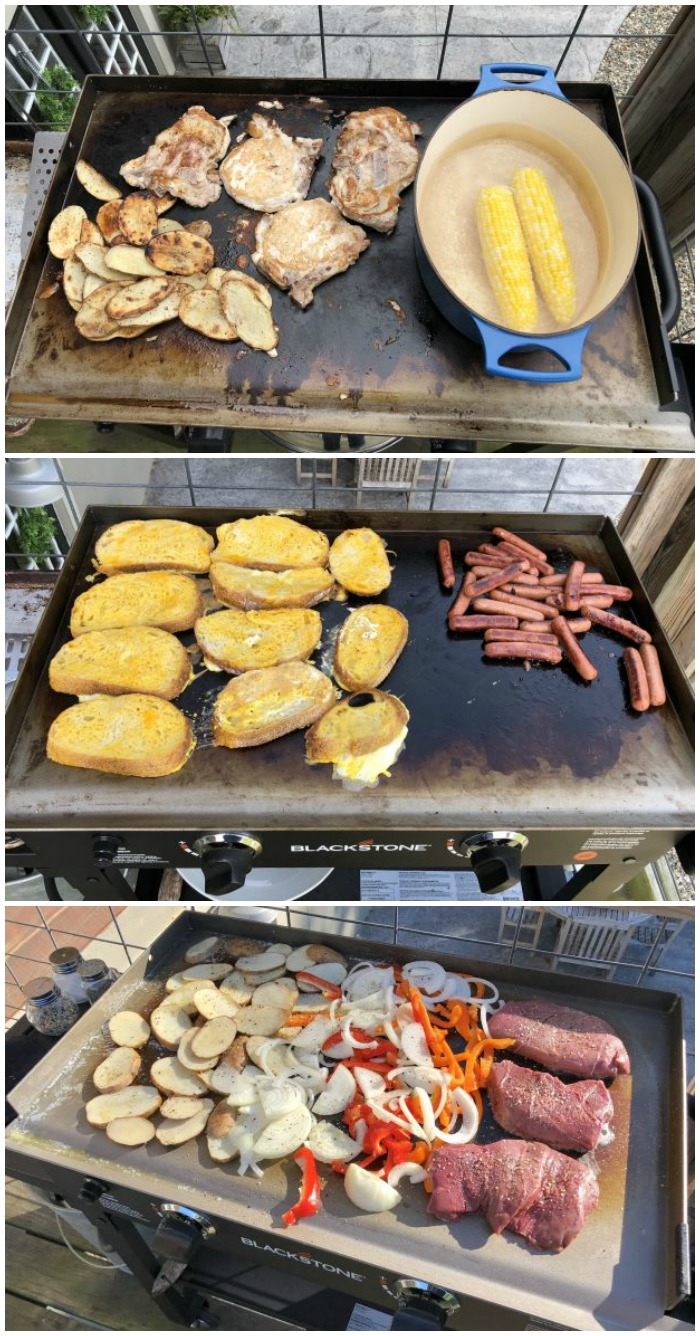 See How To Grill Almost Anything On a Blackstone Griddle Grill. Learn How To Season The Griddle. See How To Hide That Ugly Propane Tank