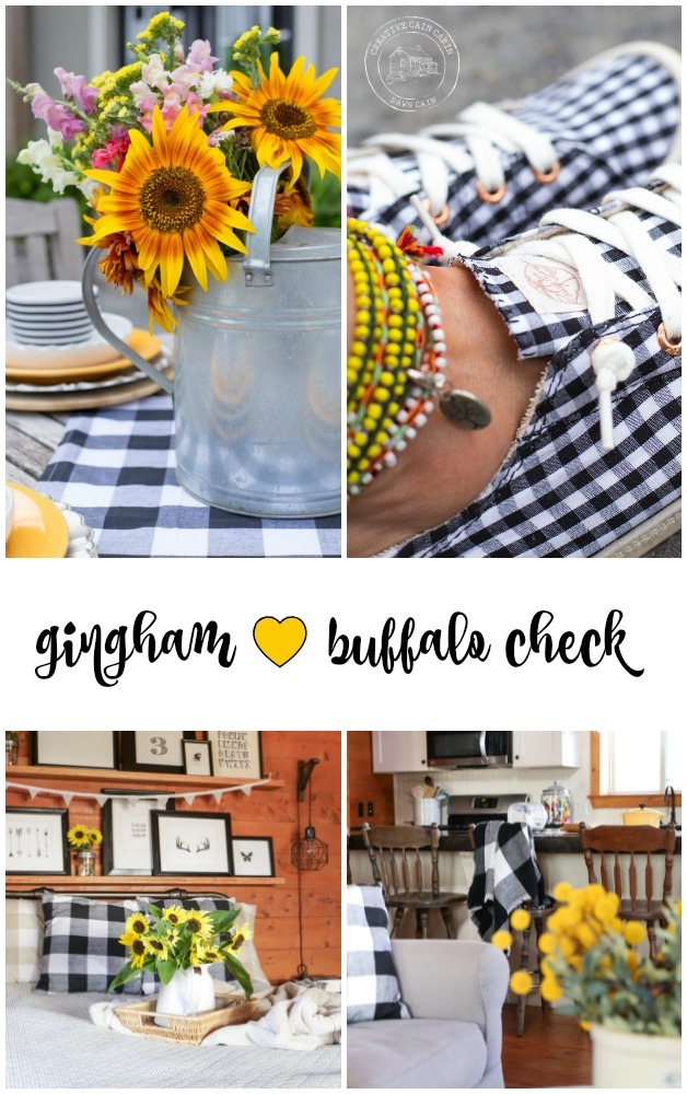 How to Decorate Your Home or Self Using Gingham and Buffalo Check