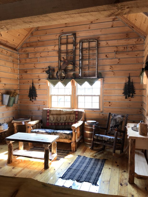 Tiny House Log Cabin Home Tour