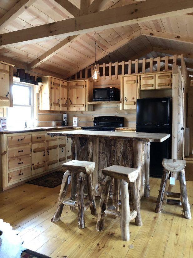 Tiny House Log Cabin Style Home Tour