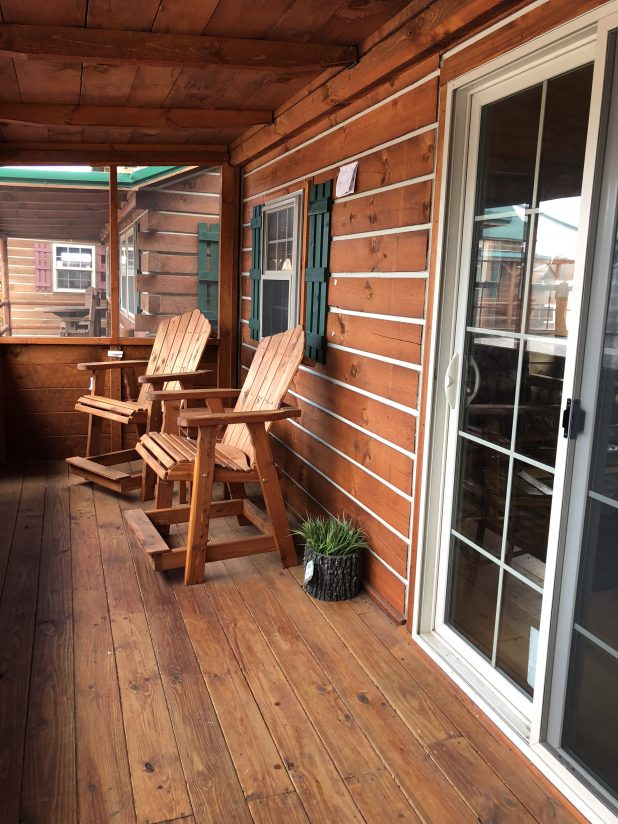 Tiny House Log Cabin Style Tour