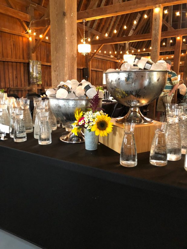 Farm to Table Event, Rustic Water Station