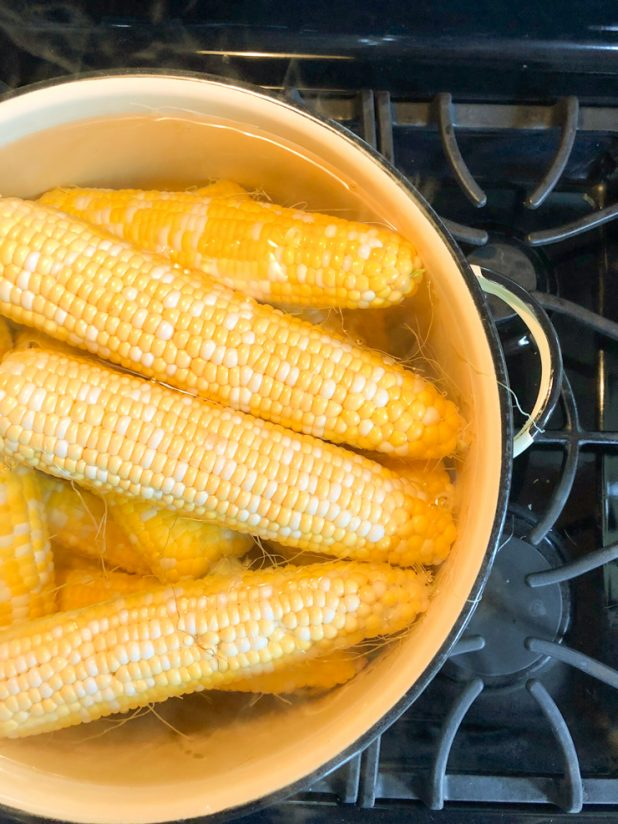 How to Blanch and Freeze Sweet Corn