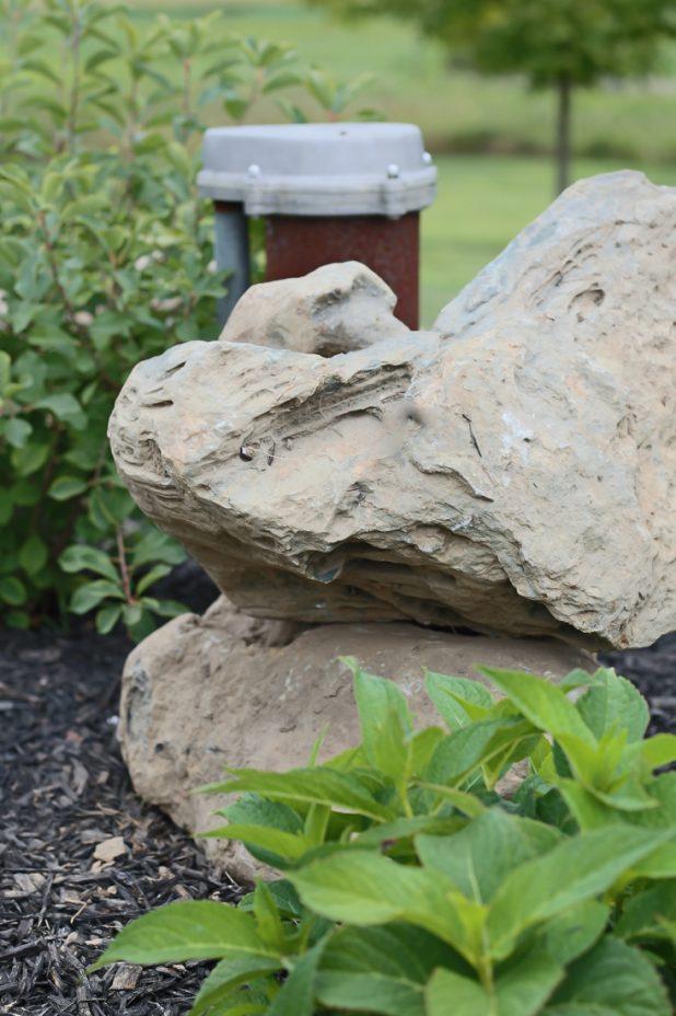 Using Rocks in A Landscape Design