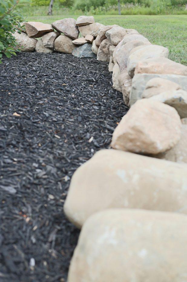 Landscape Rock Boarder