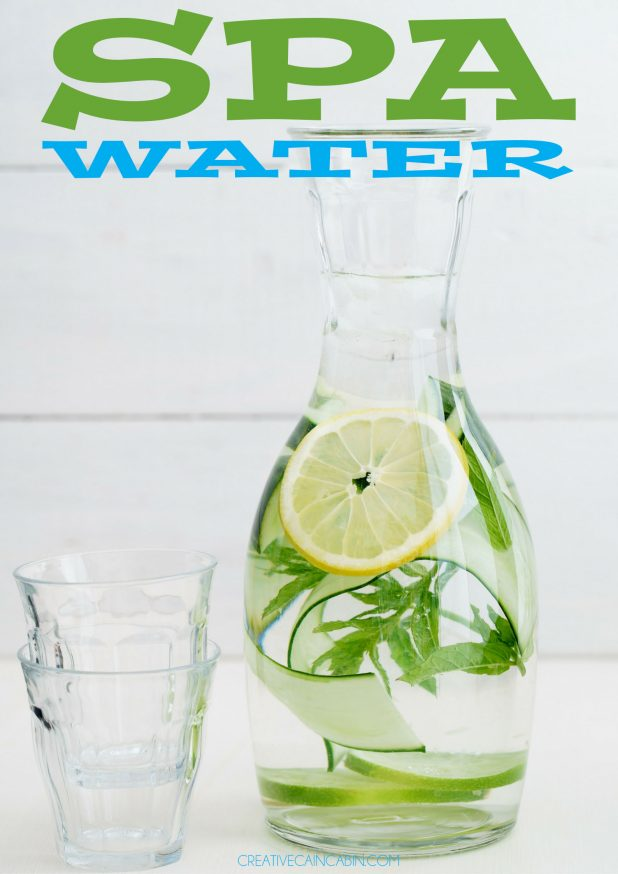 How to Make Refreshing Delicious Spa Water