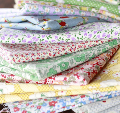 Vintage Fabric Quilt … Winter Project