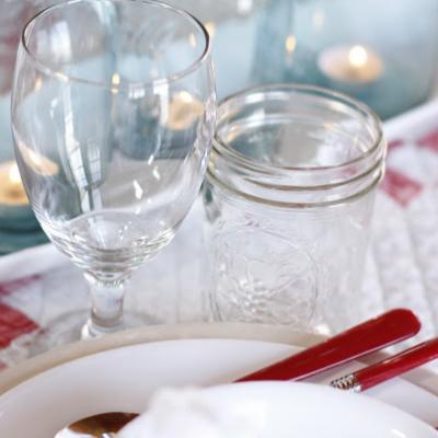 Valentines Dinner Table – Farmhouse Style