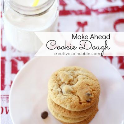 Freezer Cookie Dough
