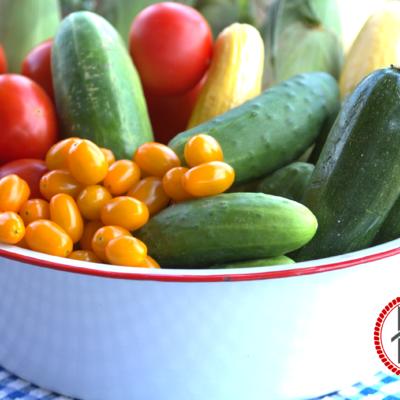 Farm Fresh Vegetables and a FREE Printable Storage Guide