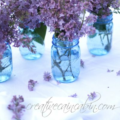 Use Lilac's to Create an Easy Centerpiece