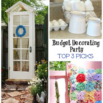 Budget Decorating Party