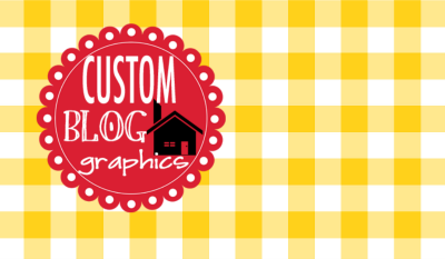 Custom Blog Graphics Shop Grand Opening and a Giveaway