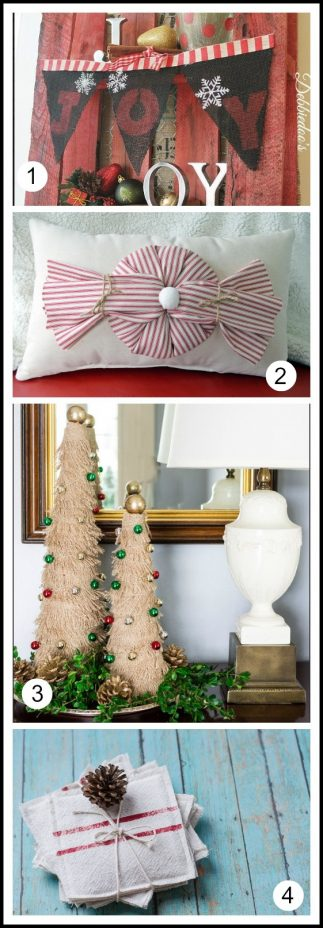 Burlap and Grain Sack Projects