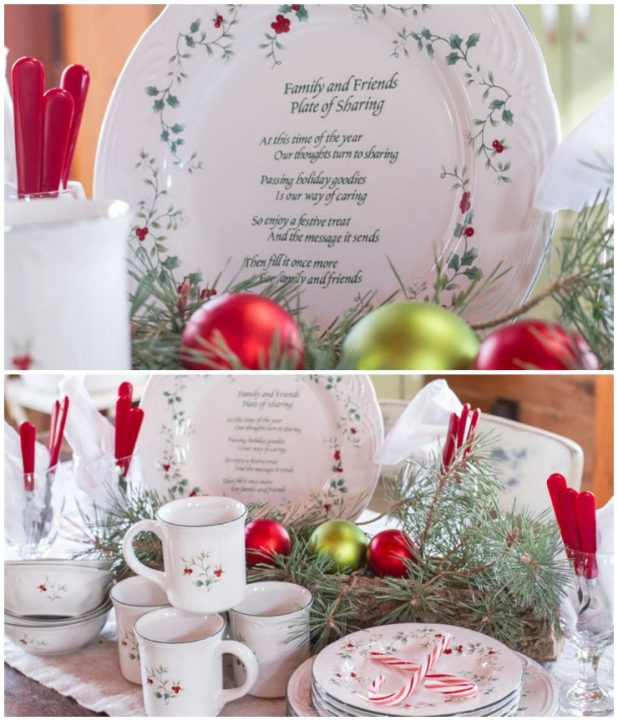 Christmas Place-setting