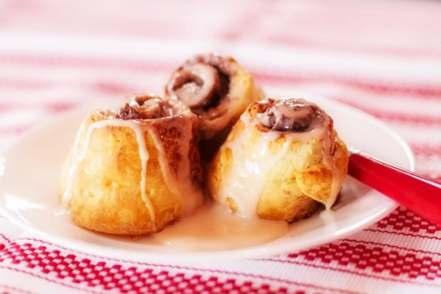 Cinnamon Rolls from Biscuits