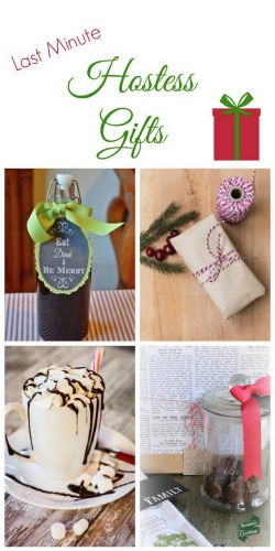 Christmas Hostess Gift Ideas