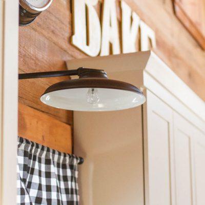 How To Speed Clean Your Kitchen Sink, Window, and Light Fixtures