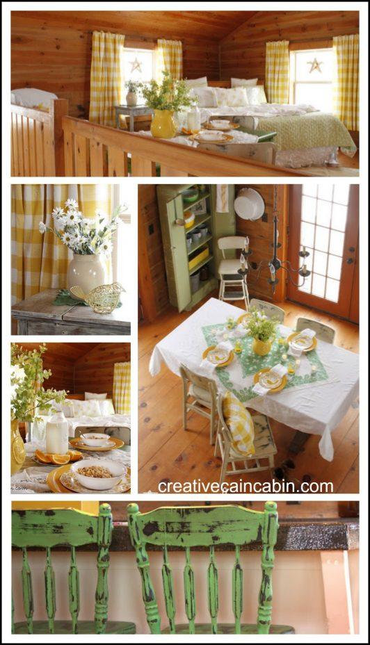 Decorate for St. Patrick's Day using what you already own. Bedroom, Kitchen, and Dining room Inspiration.
