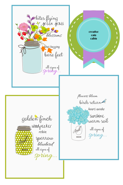 """""""Signs of Spring"""" Free Printables"""