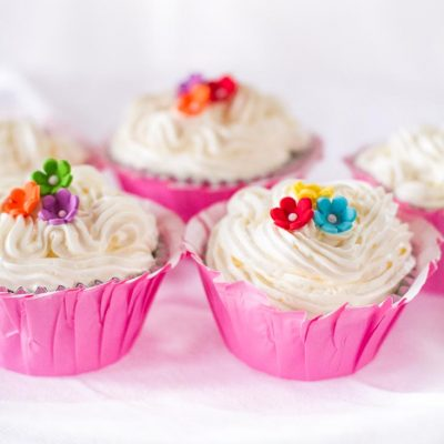 Pirate Fairy Cupcake's with a Red Velvet Recipe