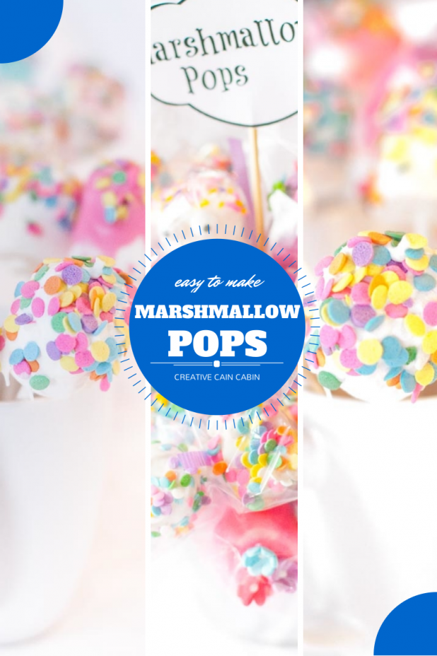 Marshmallow Pops An Easy Treat To Make ~ Ingredient List and Photo Instructions