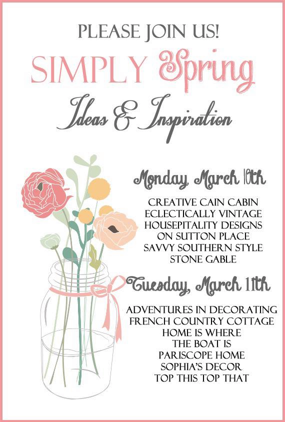 Simply Spring Ideas and Inspiration