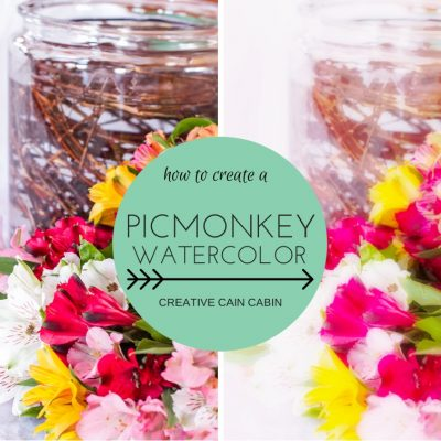 How to Create a Watercolor from a Photo in PicMonkey