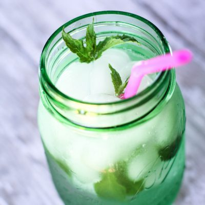 Refreshing Mint Water a Summer Pick Me Up