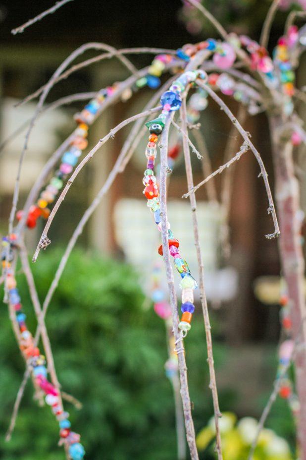Jeweled Weeping Cherry |Diy Garden Art | Creative Cain Cabin