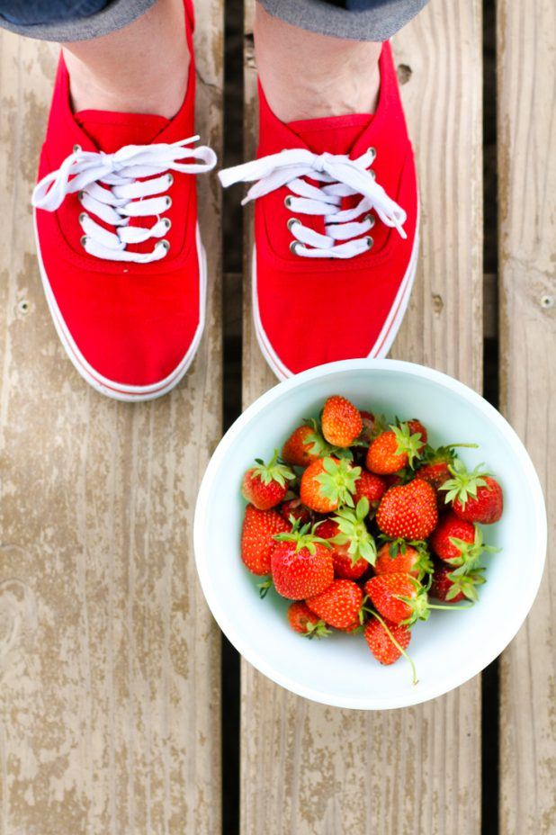 Fresh Strawberries | Creative Cain Cabin