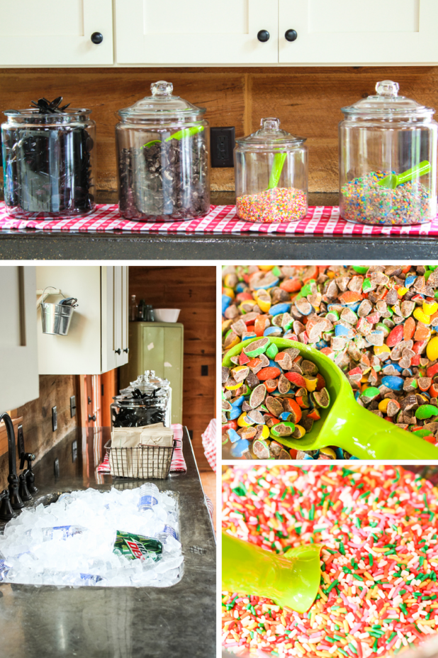 Ice Cream Bar | Creative Cain Cabin