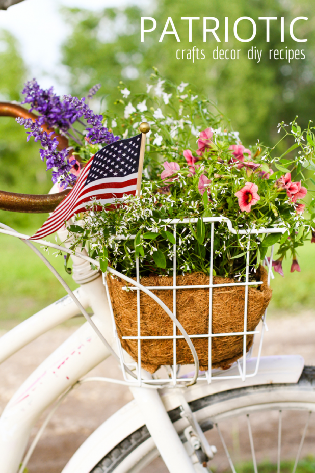 Patriotic | 4th of July | Red White & Blue | Inspirational DIY, Crafts, Recipes and Home Decor | Creative Cain Cabin
