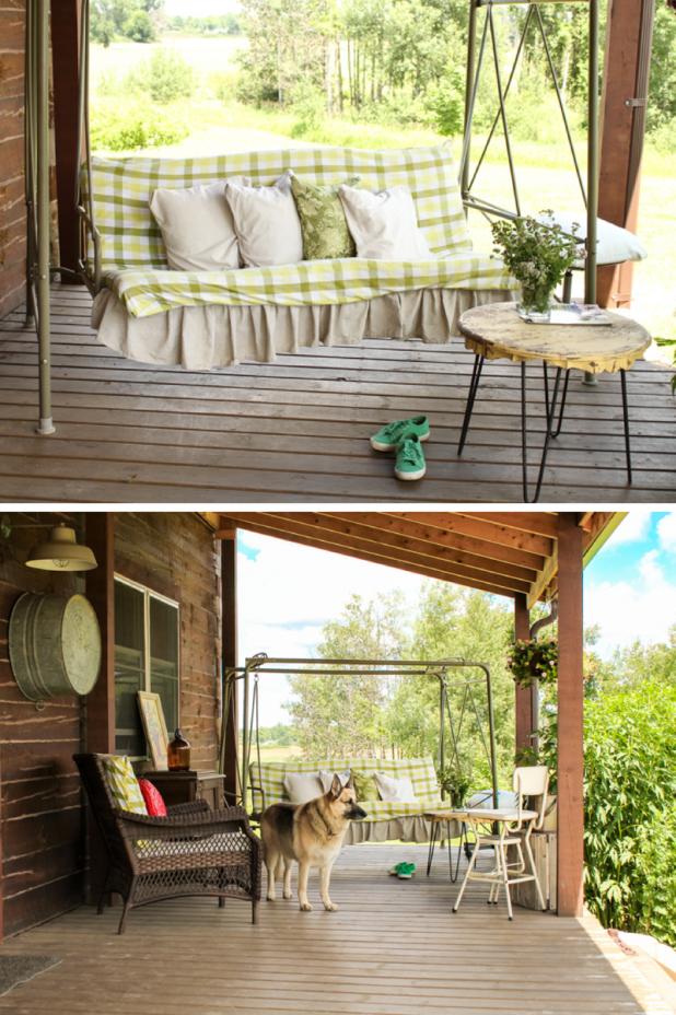 Summer Porch   Creative Cain Cabin