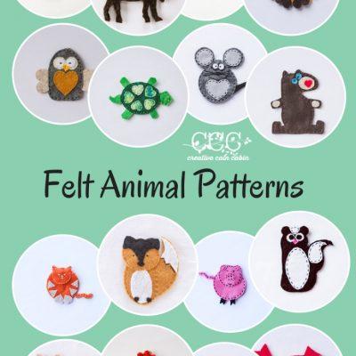 August Felt Patterns
