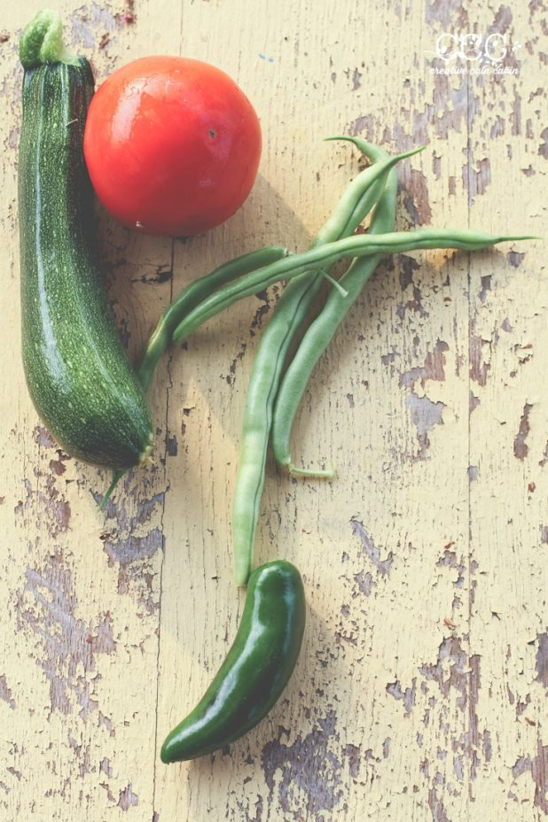 Garden Veggies | Creative Cain Cabin