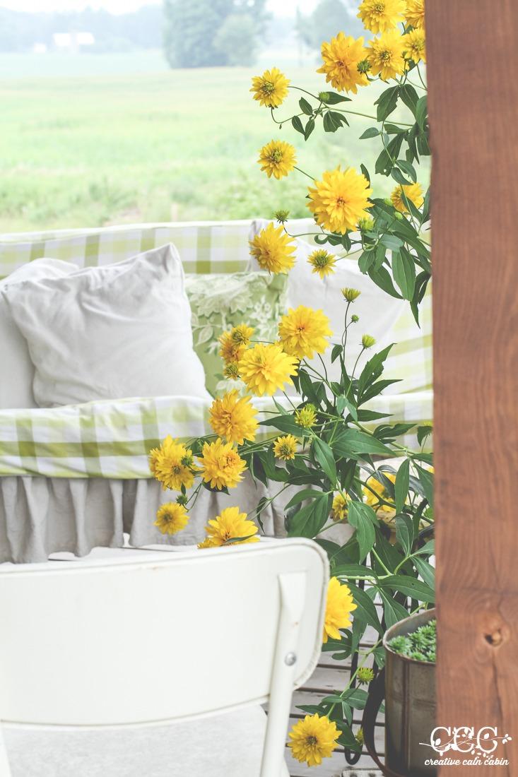 False Sunflowers   Creative Cain Cabin