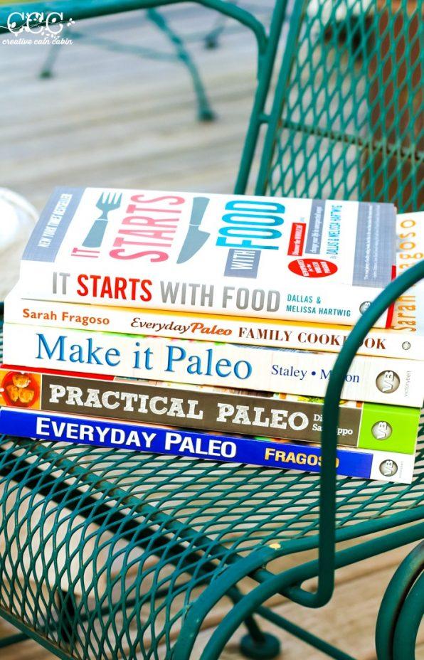 Favorite Paleo Recipe Books and Reads | Creative Cain Cabin