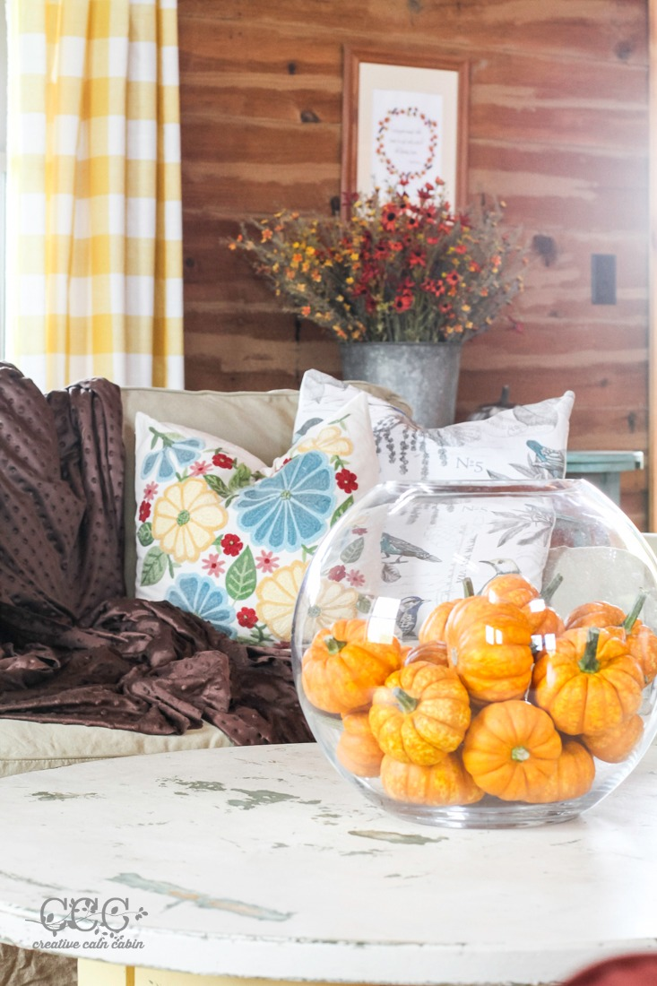 Fall Decor | Creative Cain Cabin