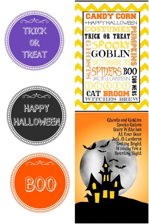 Halloween Printables | Creative Cain Cabin