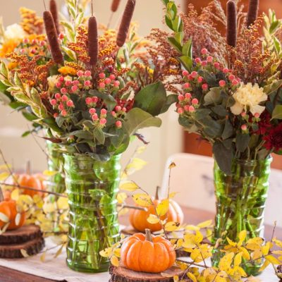 How to Layer a Thanksgiving Centerpiece