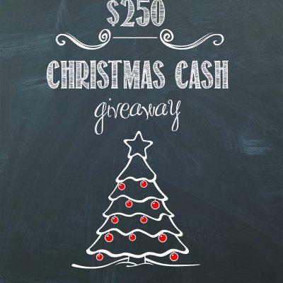 Christmas Idea Extravaganza $250 Cash Giveaway