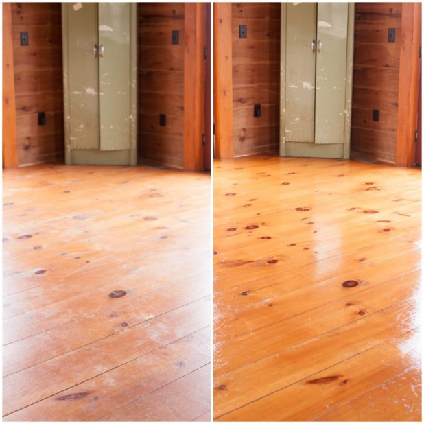 How to Restore Wood Floors for $5 | Easy To Do, All You Need is a Microfiber Mop | creativecaincabin.com