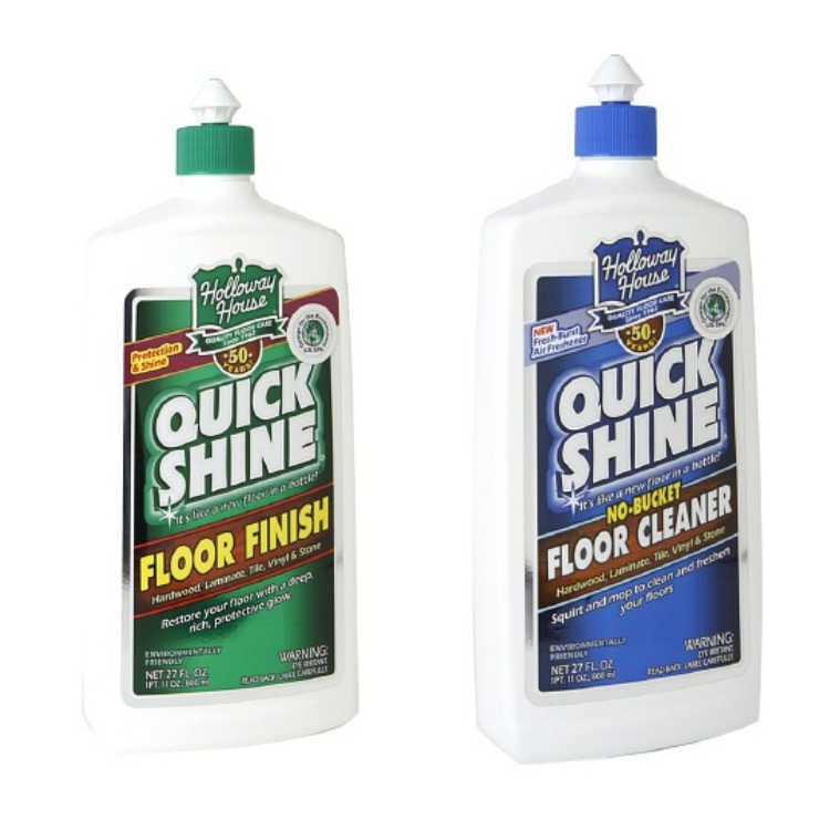 Quick Shine Floor Finish & Cleaner | Creativecaincabin.com