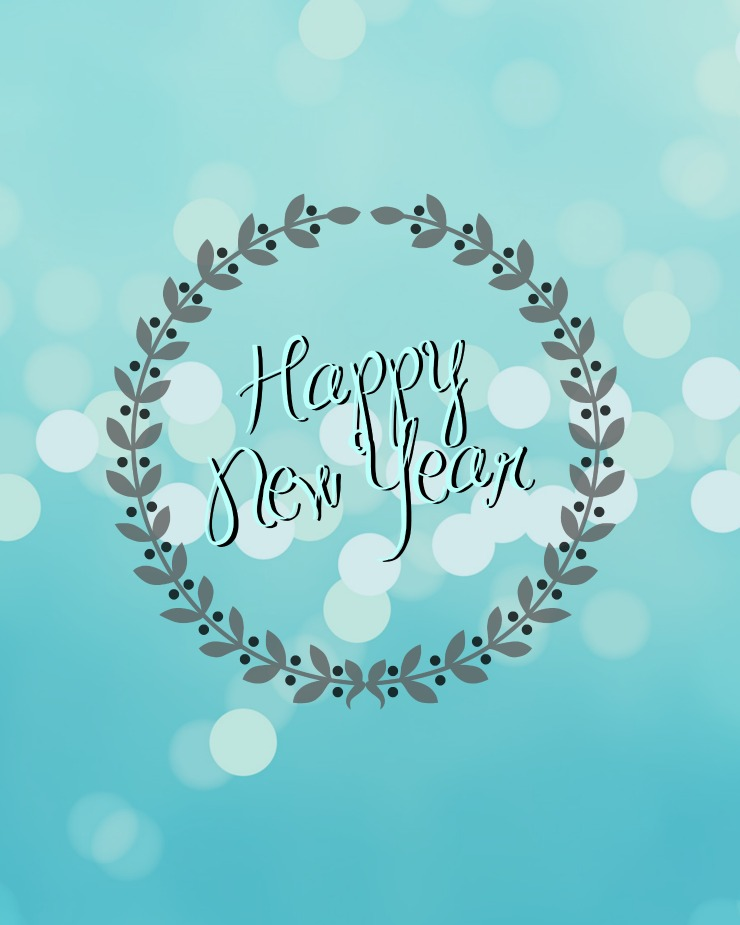 Happy New Year Printable | Creativecaincabin.com