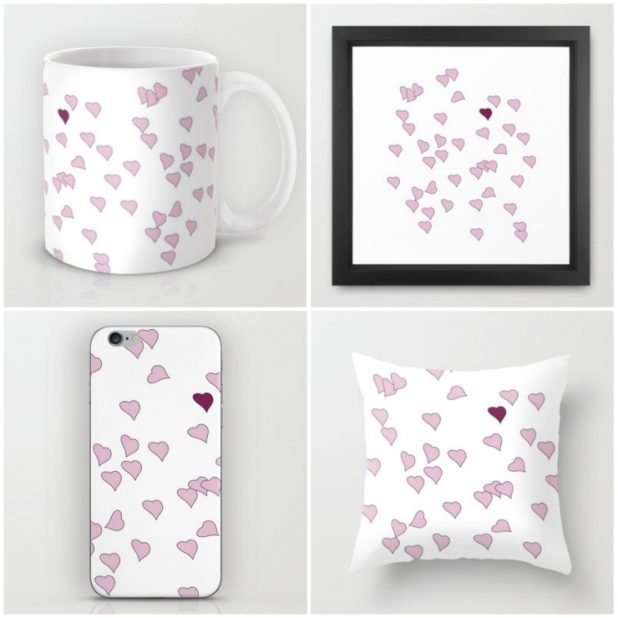 Floating Heart Collection