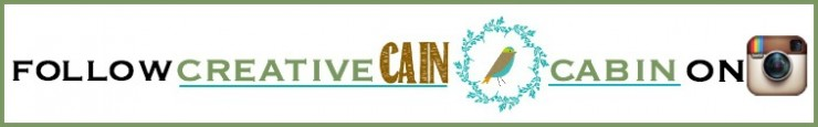 Follow Creative Cain Cabin on Instagram